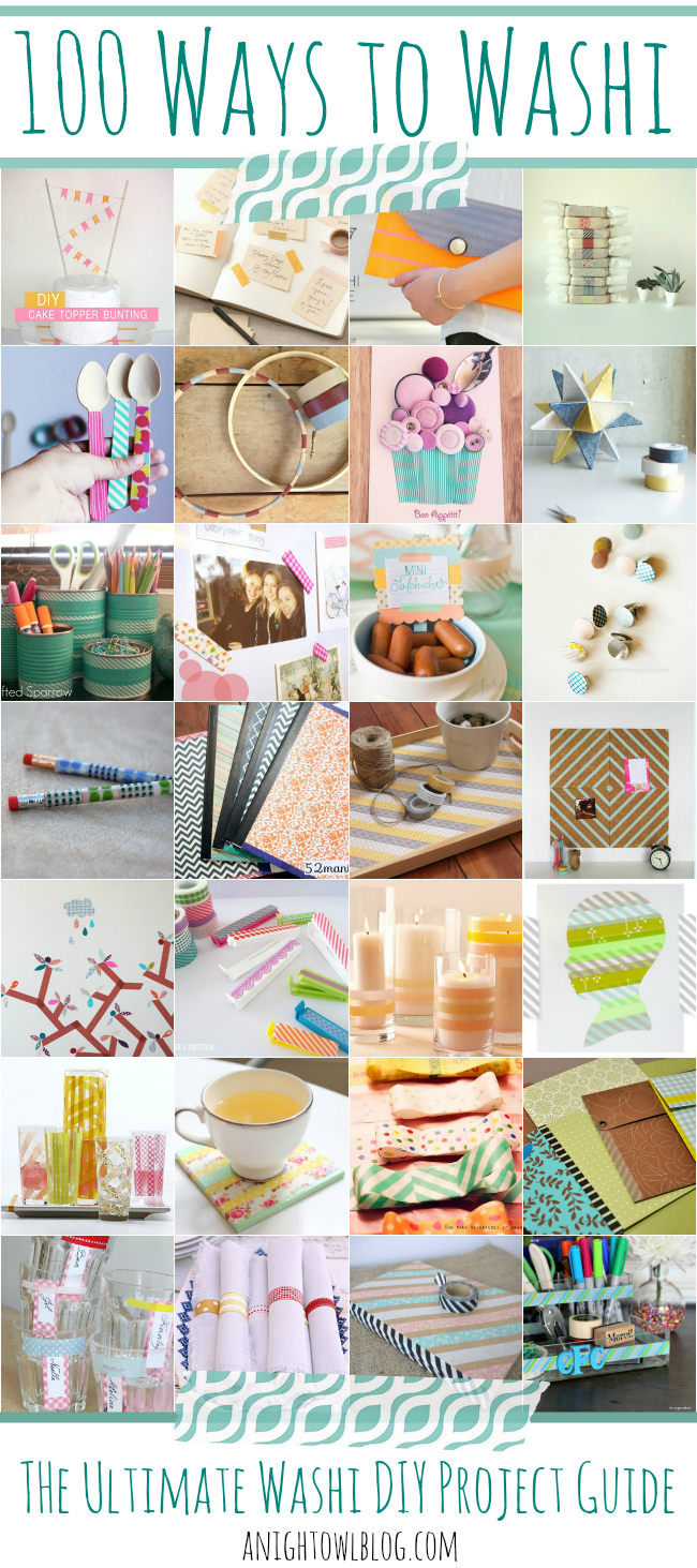 100 Ways to Washi – The Ultimate Washi Project Guide