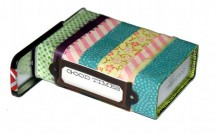 DIY Washi Tape Stash Tin #washi #washitape
