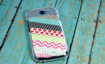 Washi Tape Phone Case #washi