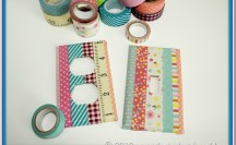 Washi Tape Light Switch & Outlet Covers #washi #washitape