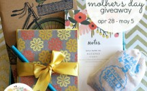 Sugar Paper Designs Mother's Day Giveaway