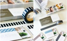 Washi Tape Business Cards #washi #washitape