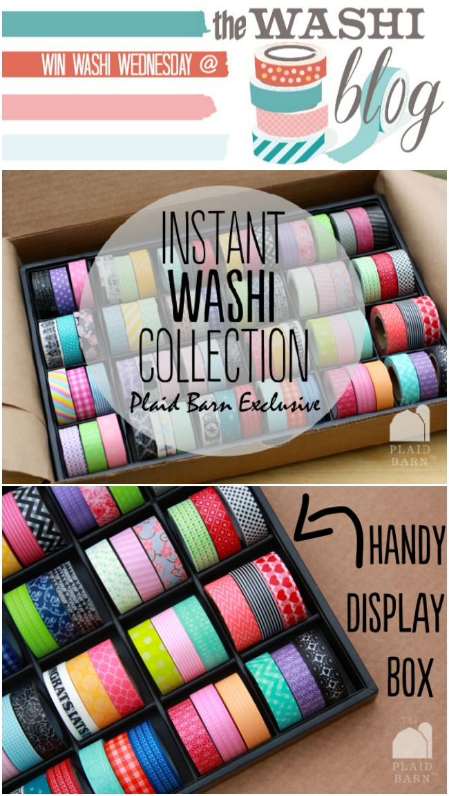 Win the Instant Washi Collection at thewashiblog.com