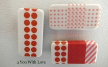 Washi Tape Domino Magnets #washi #washitape