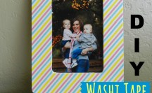 Washi Tape Frame #washi #washitape
