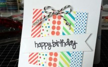 Washi Greeting Cards; for more washi inspiration and projects visit thewashiblog.com | #washi #washitape
