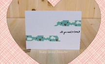 Super Simple Washi Tape Cards; for more washi projects and inspiration visit thewashiblog.com | #washi #washitape