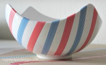 Labor Day Washi Tape Party Decor for more washi projects and inspiration visit thewashiblog.com | #washi #washitape #laborday