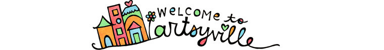 Welcome to Artsyville - Here you'll find washi, prints, magnets, and other little things Aimee make out of her doodles.