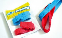 Superhero Wristband Washi Favors | For more washi projects and inspiration visit thewashiblog.com | #washi #washitape