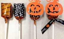 Washi Tape Halloween Treats | For more washi projects and inspiration visit thewashiblog.com | #washi #washitape #halloween