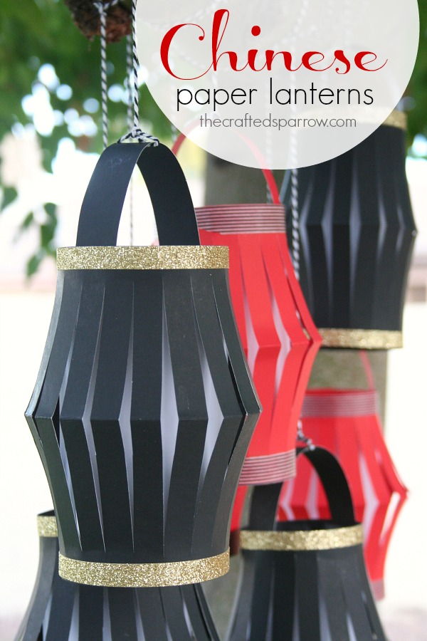 Chinese Washi Paper Lanterns