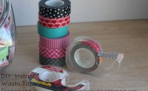 Instant Washi Tape Dispenser | For more washi tape ideas and inspiration visit thewashiblog.com | #washi #washitape